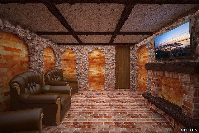 Соляная пещера гималайская